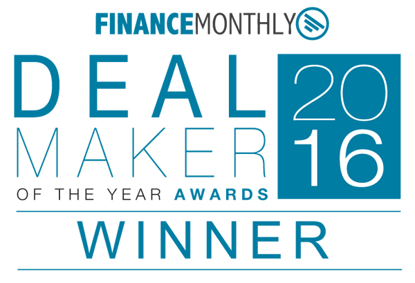 Finance Monthly – Deal Maker Awards 2016